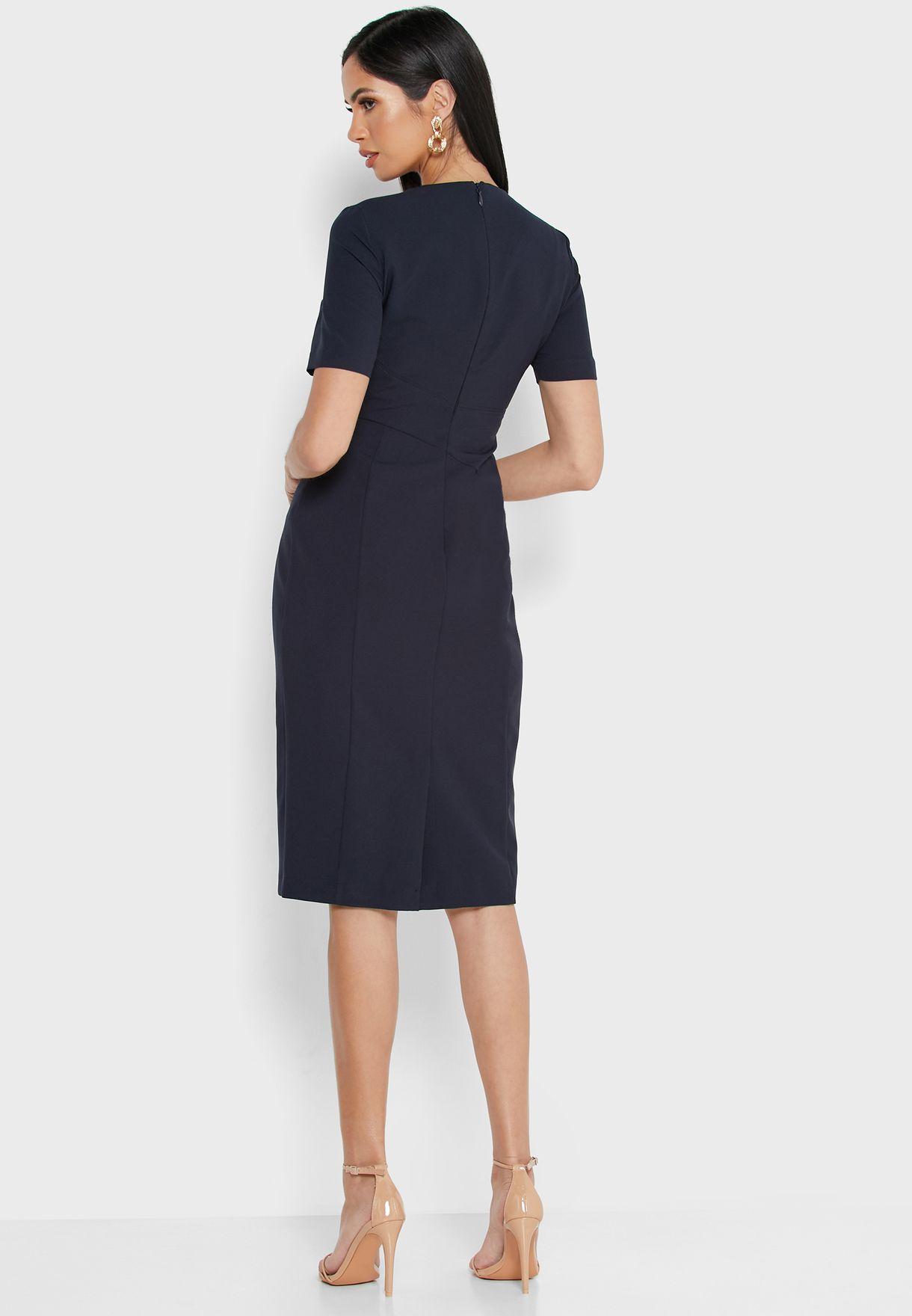 Back Zip Through Dress
