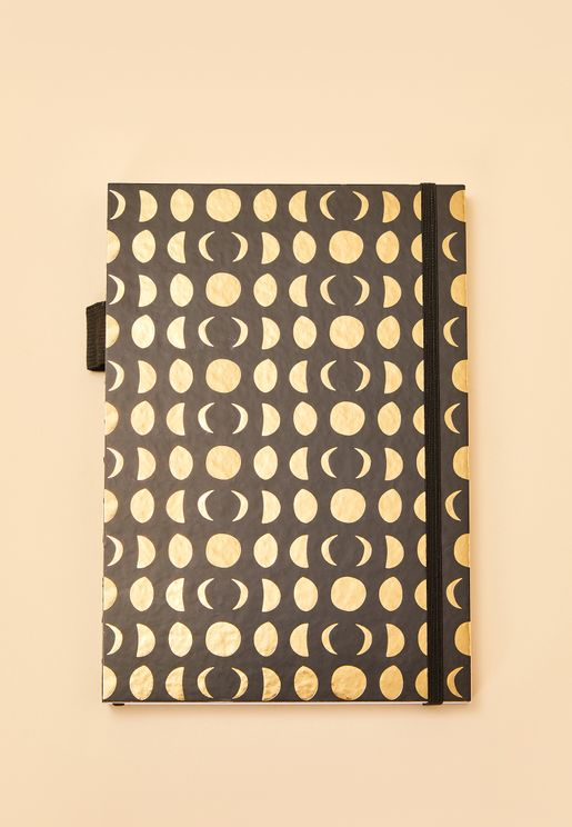 A5 Moon Phases Notebook