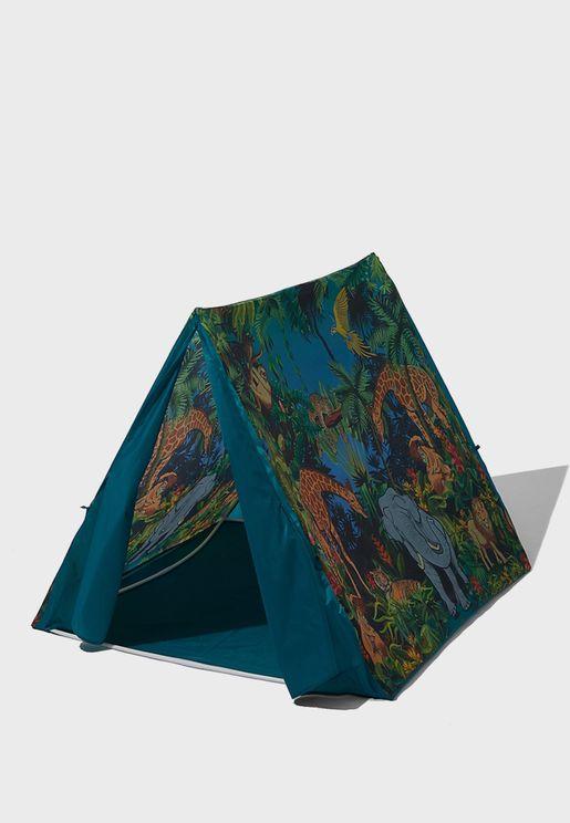 Kids Jungle Print Play Tent