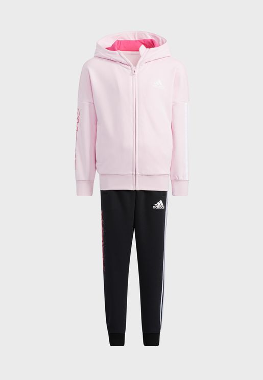 Youth Graphic Hooded Tracksuit