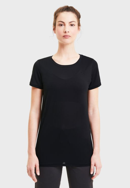 Studio Lace Keyhole T-Shirt