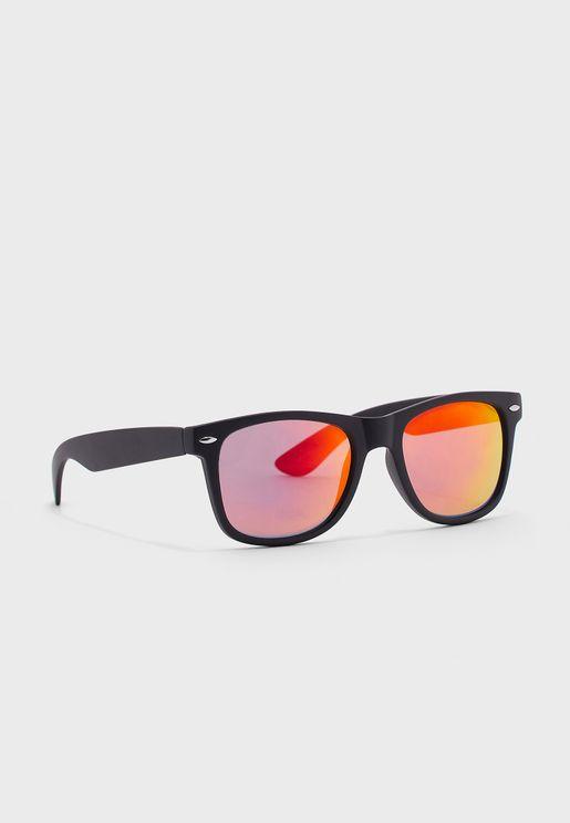 نظارة شمسية مربعة ريترو