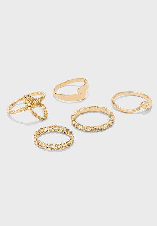 Etewen Rings Set