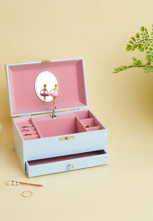 صندوق مجوهرات بموسيقي