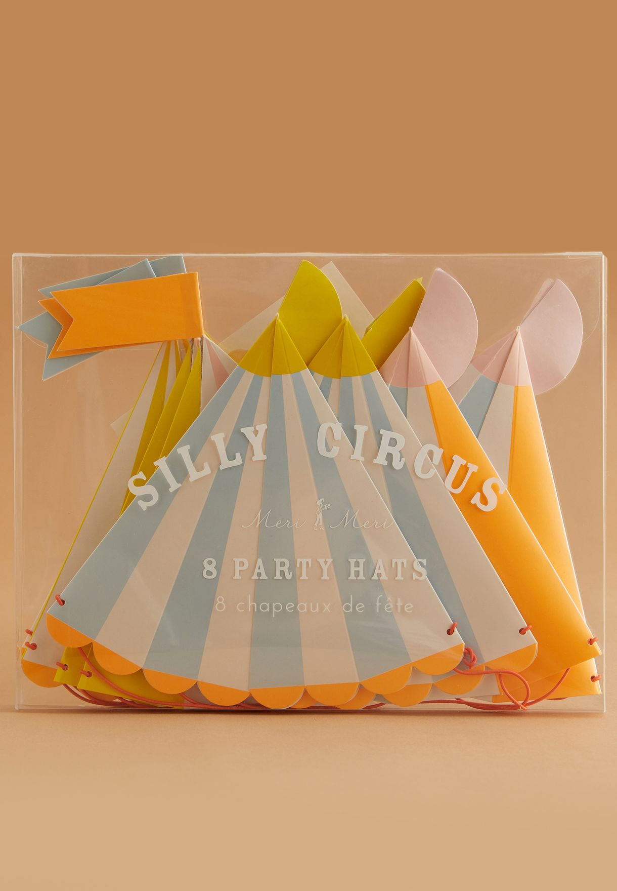 Circus Party Hats 8 Pack