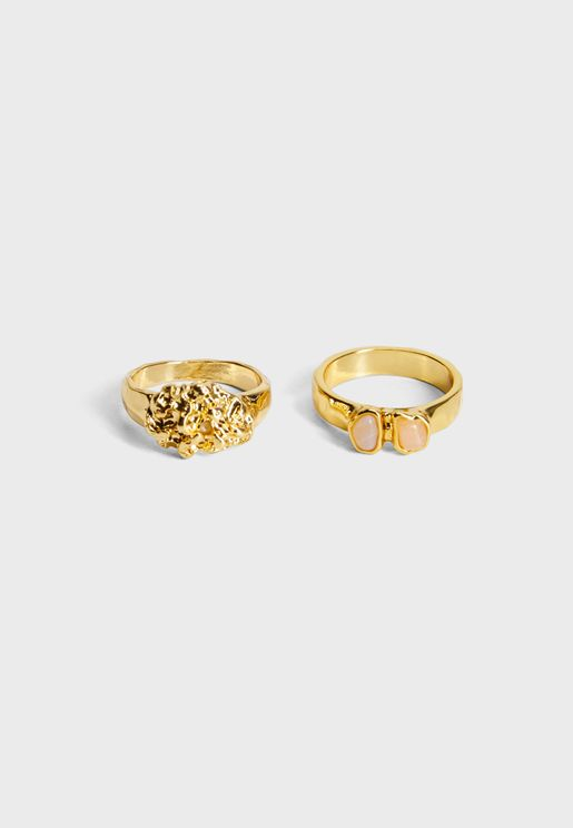 Nebet Rings Set