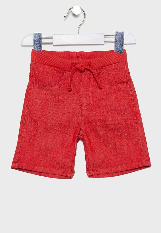 Little Tie Waist Detail Shorts