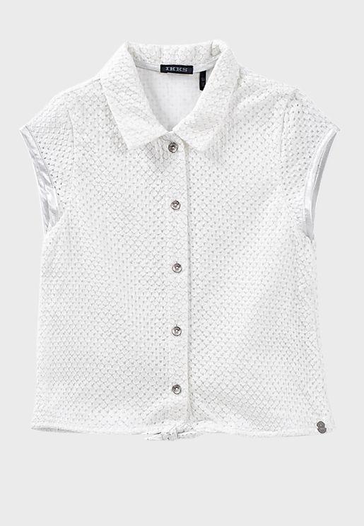قميص بدون اكمام للاطفال