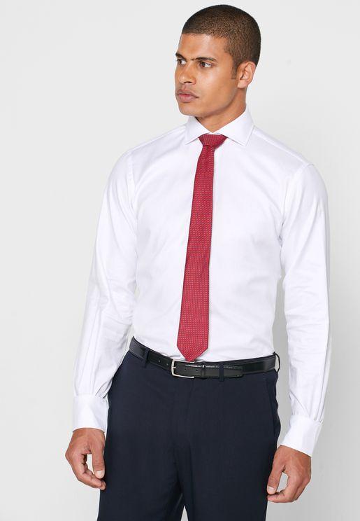 Cutaway Collar Slim Fit Shirt