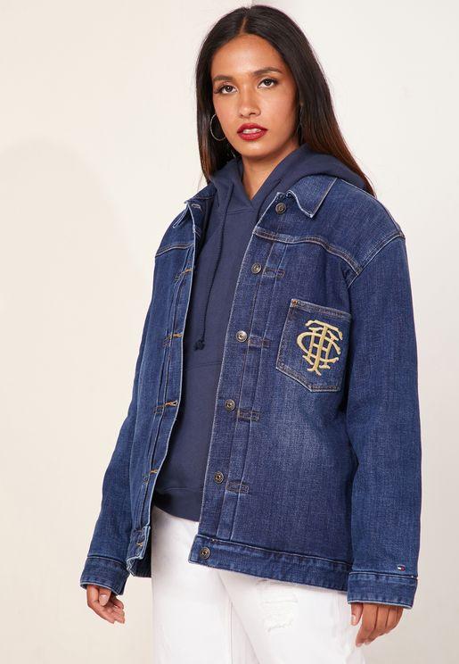 Logo Denim Jacket