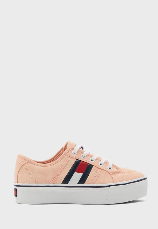 Flatform Flag Sneaker