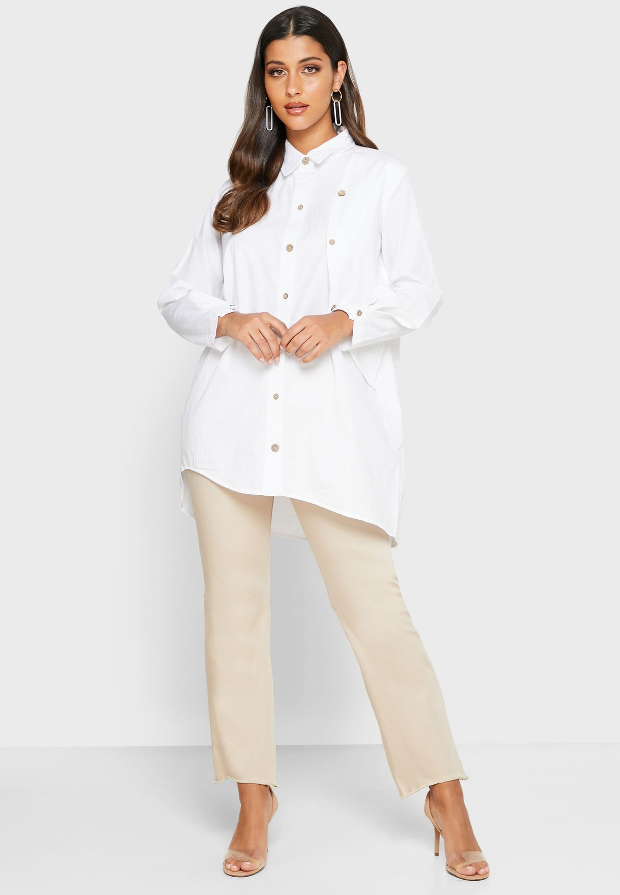 Belted Tunic Top
