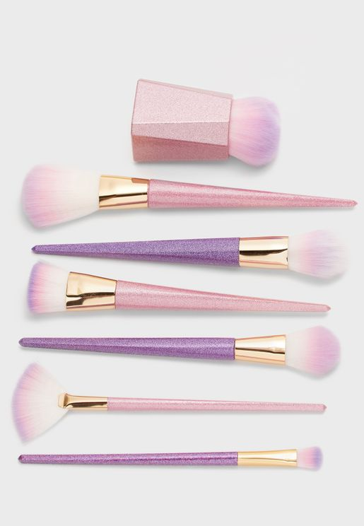7 Pack Makeup Brush Set