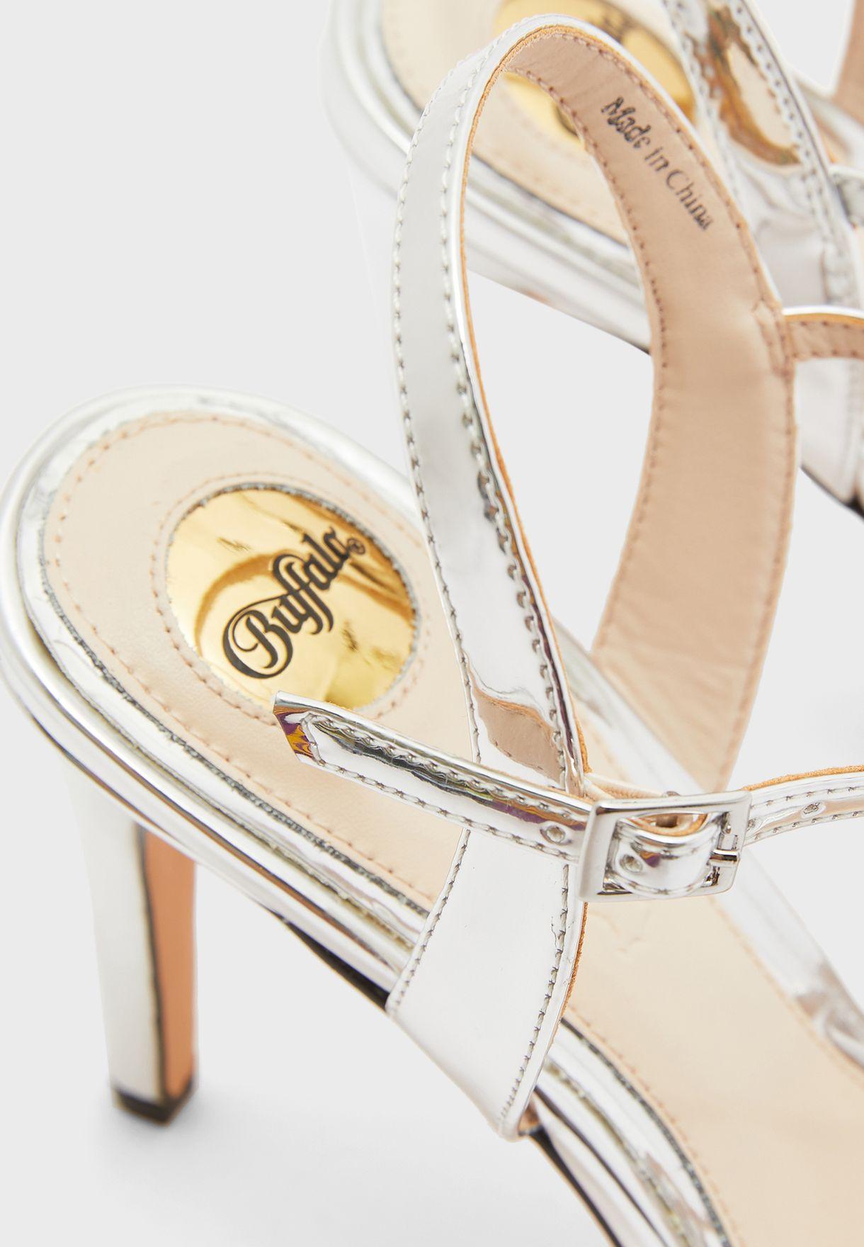 Anja Cross Strap Sandal