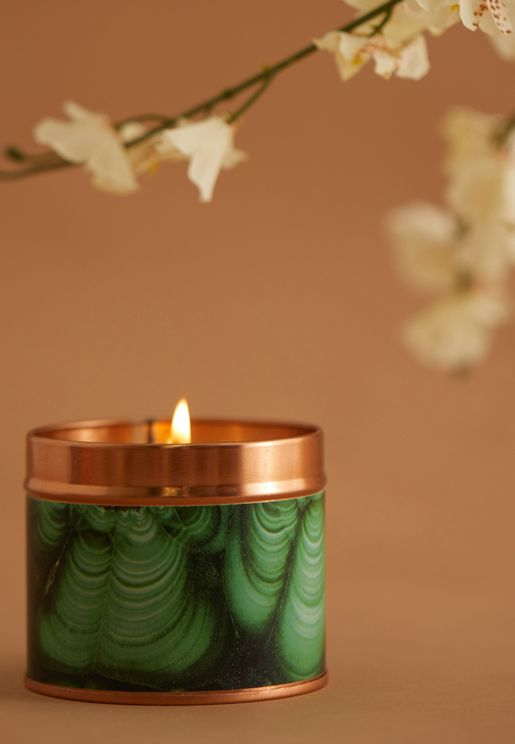 Cedarwood & Lime Scented Candle