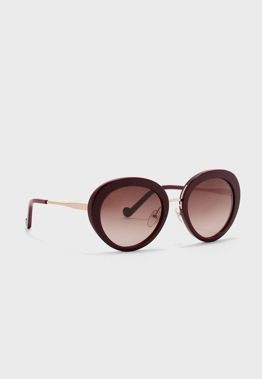 LJ678S Oversized Sunglasses