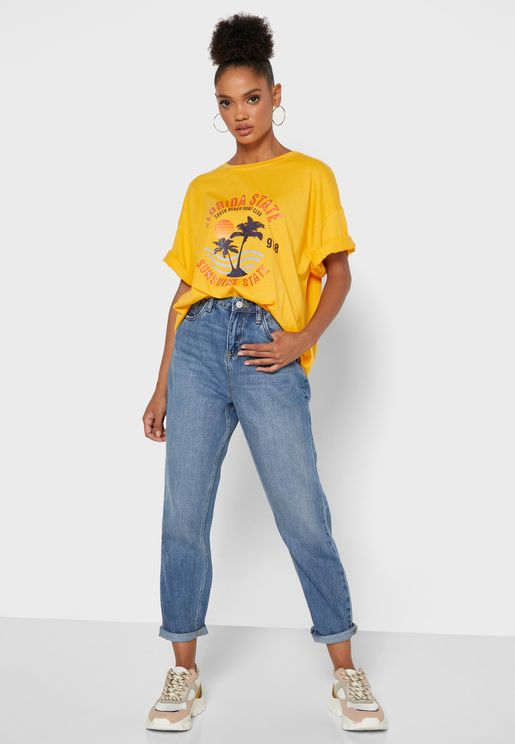 Miley Mom Jeans