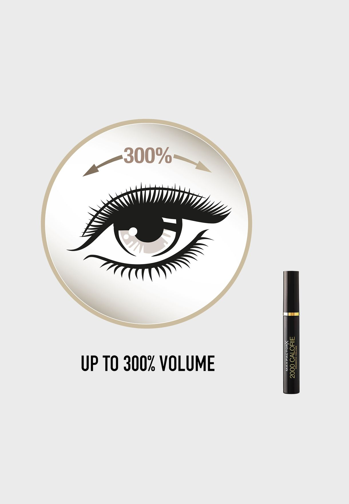 2000 Calorie Mascara -Dramatic Volume