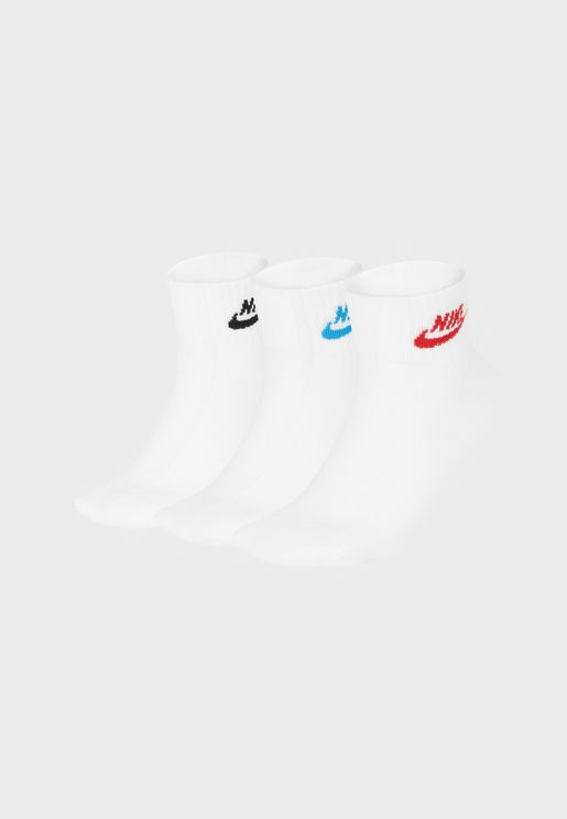 3 Pack NSW Essential Ankle Socks