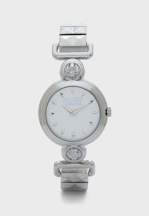 ساعة بوحه دائري