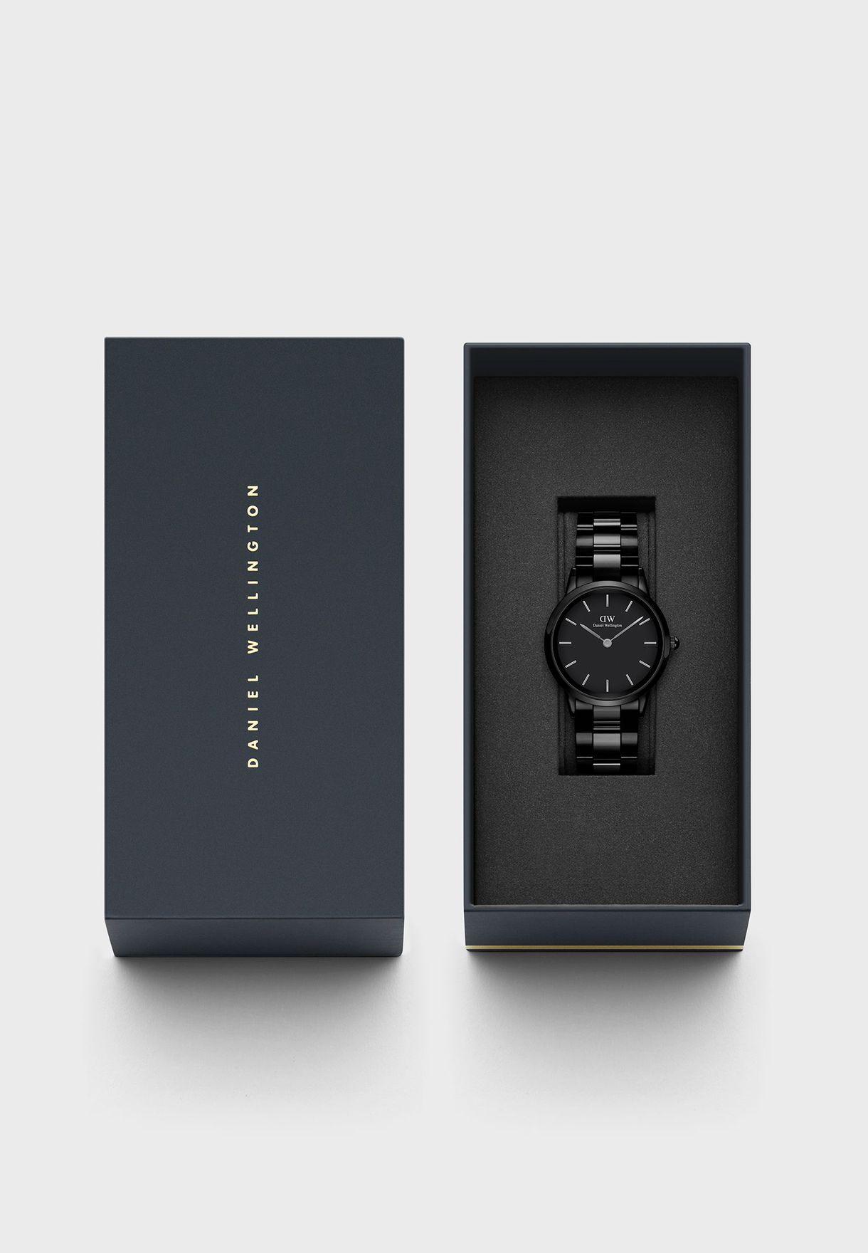 ساعة سيراميك بعقارب يابانية