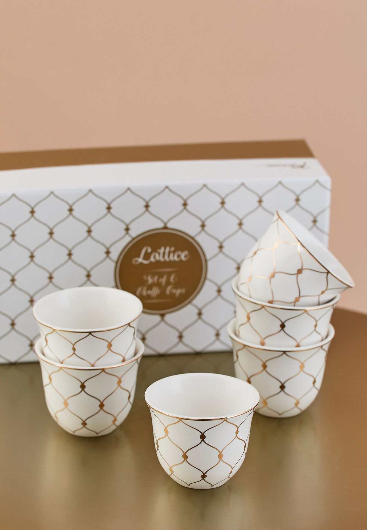 6 Pack Chaffe Cups