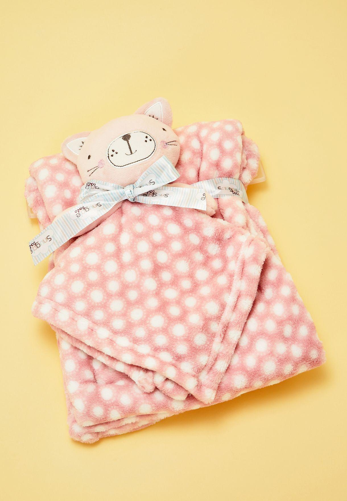 Kitten Blanket Set