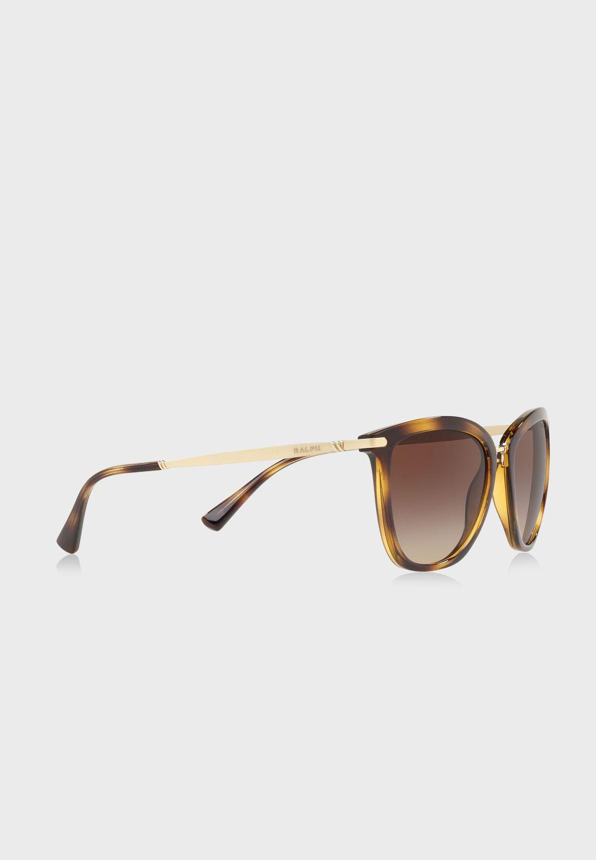a325ca8e21b Shop Polo Ralph Lauren prints Wayfarer Sunglasses 8.05E+12 for Women ...