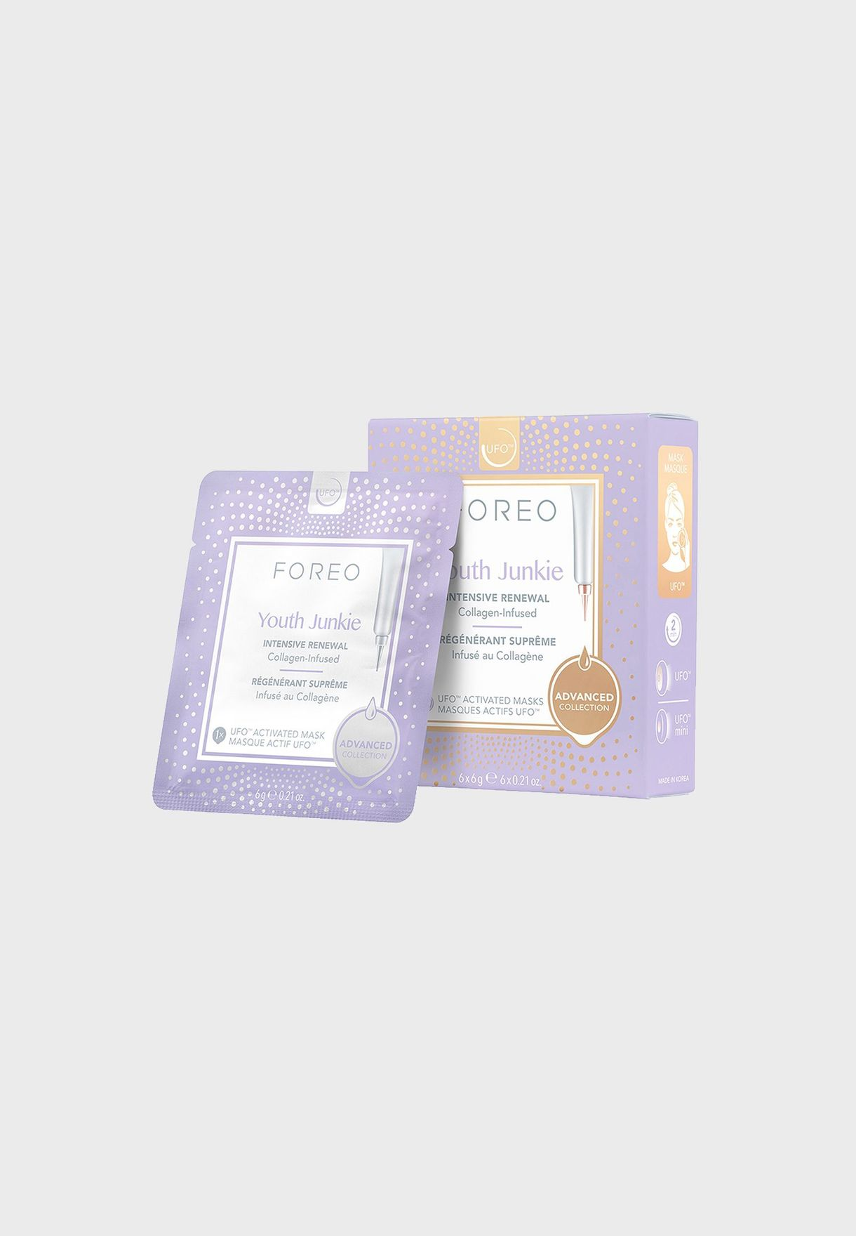 Youth Intensive Renewal UFO Activated Mask