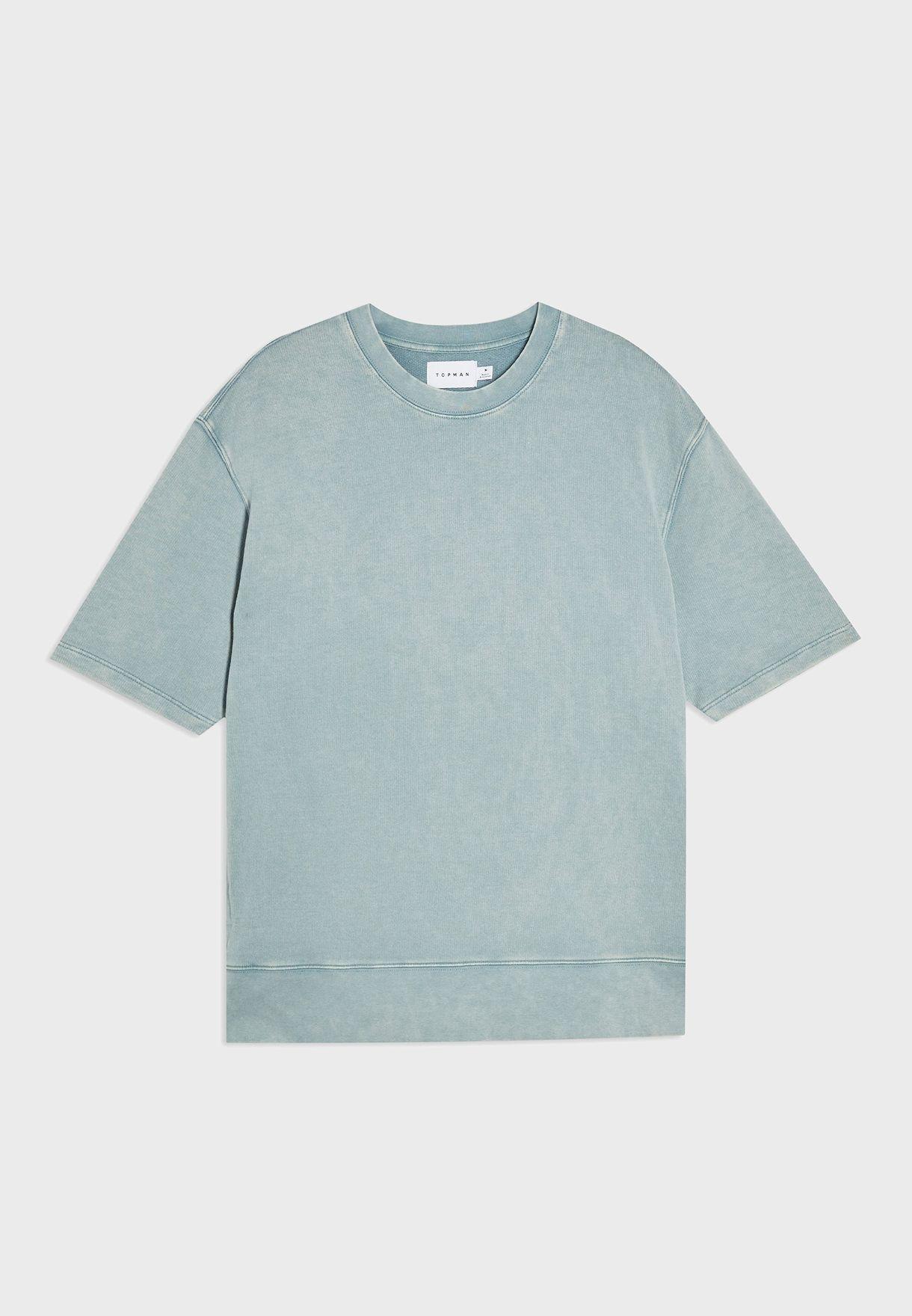 Washed Crew Neck T-Shirt