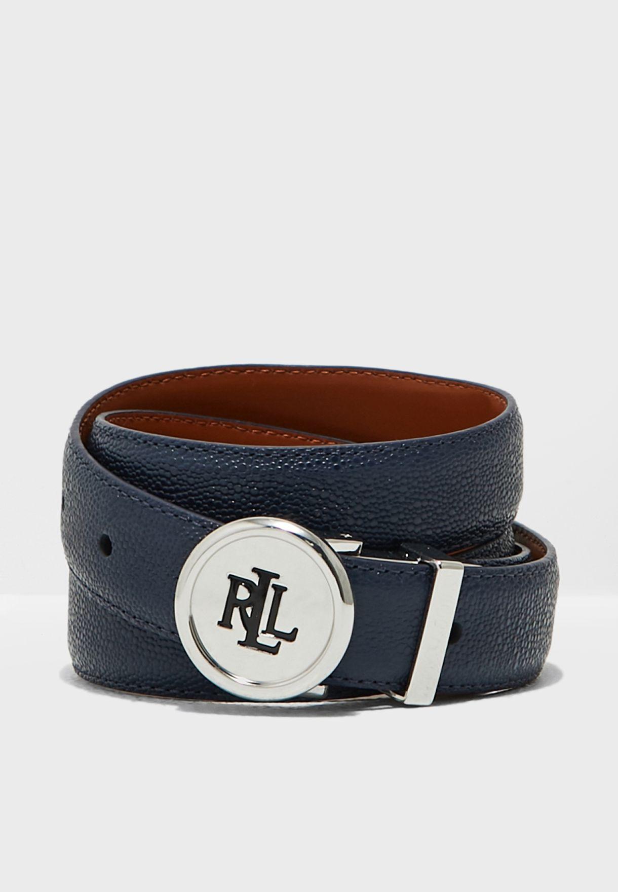 Rev Logo Buckle Belt