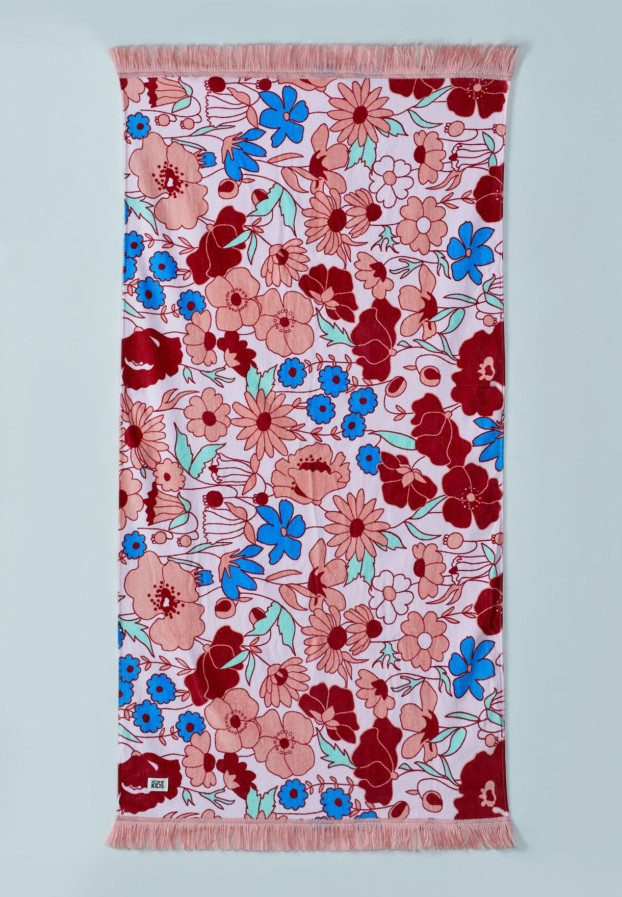 Kids Floral Beach Towel