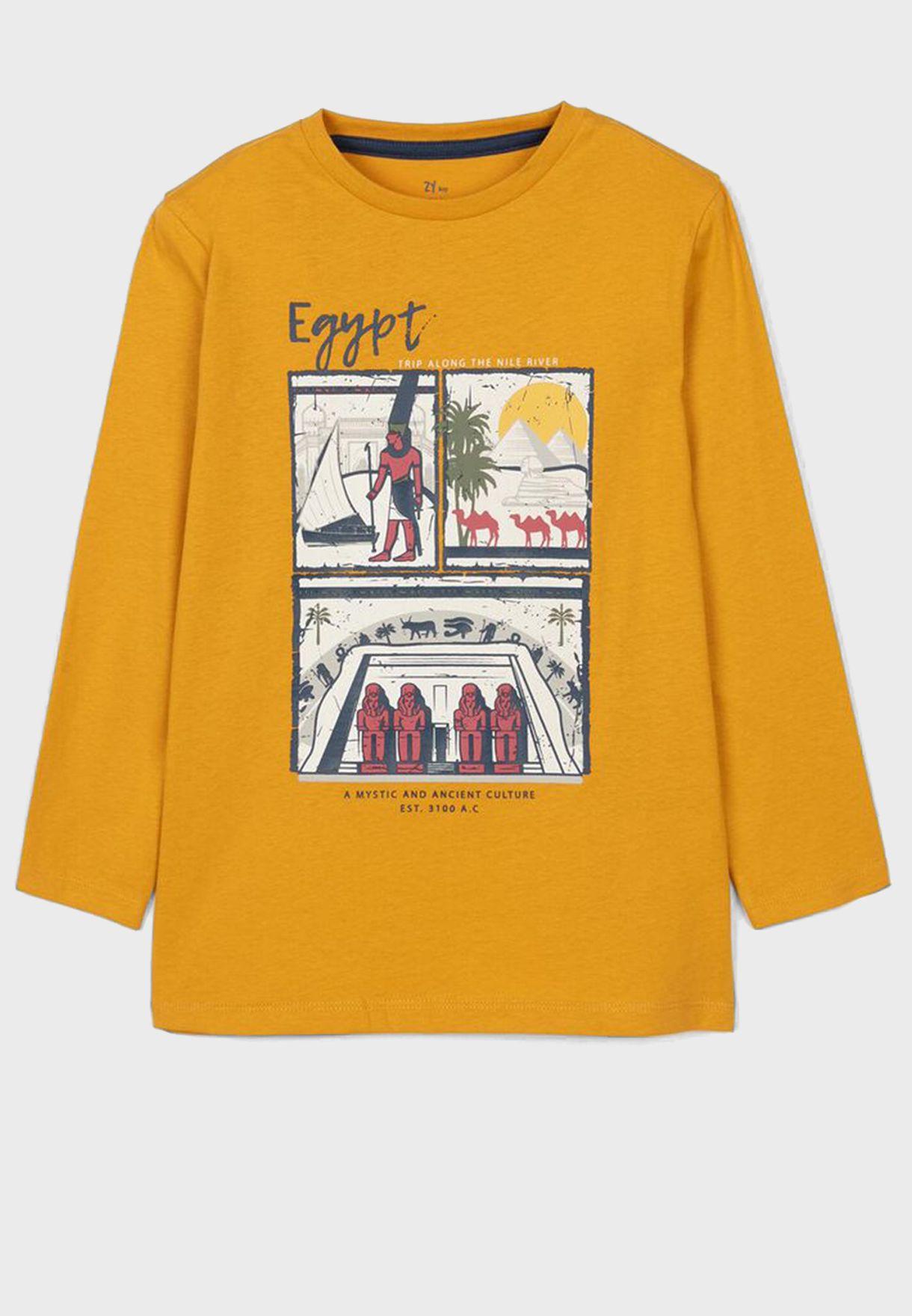 Kids Egypt Culture T-Shirt