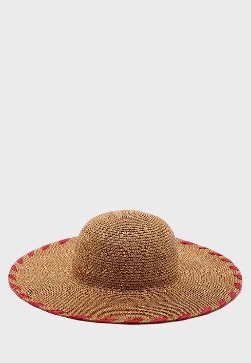 Naya Straw Floppy Hat