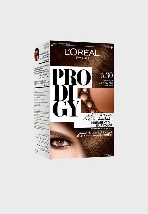 Prodigy Permanent Hair Color 5.3 Light Golden Brow