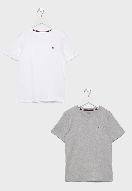Teen 2 Pack Short Sleeve T-Shirt