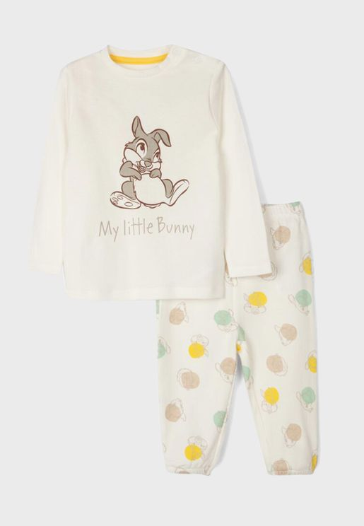 Infant Little Bunny Pyjama Set