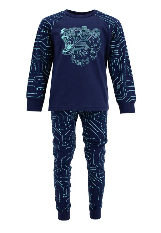 Kids Tiger Print Pyjama Set