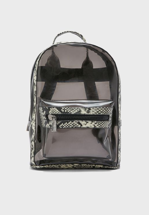Adrareniel Clear Backpack