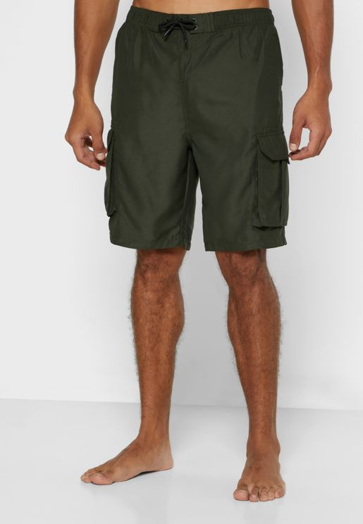 Plain Board Swim Short