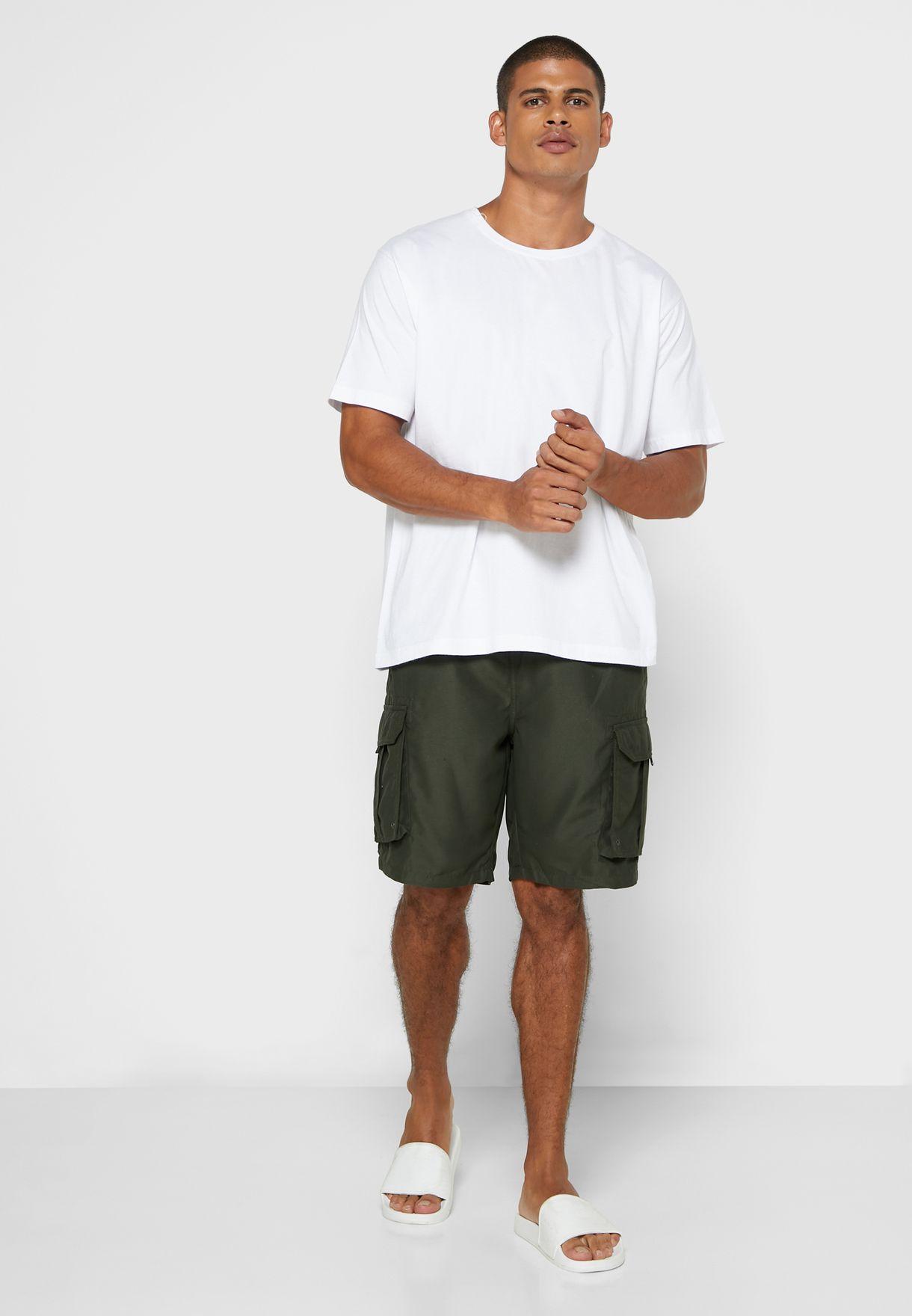 Plain Board Swim Short