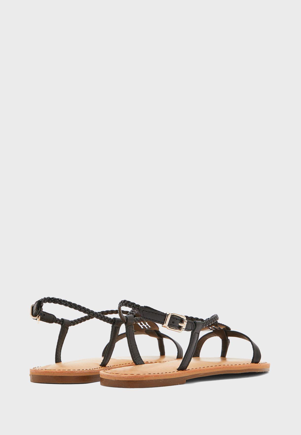 Slingback Flat Sandals