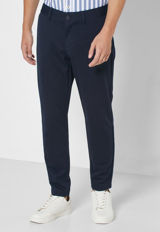 Mark Slim Fit Trousers