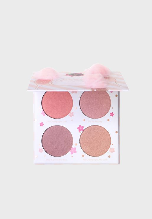 Cotton Candy Champagne Blush Palette