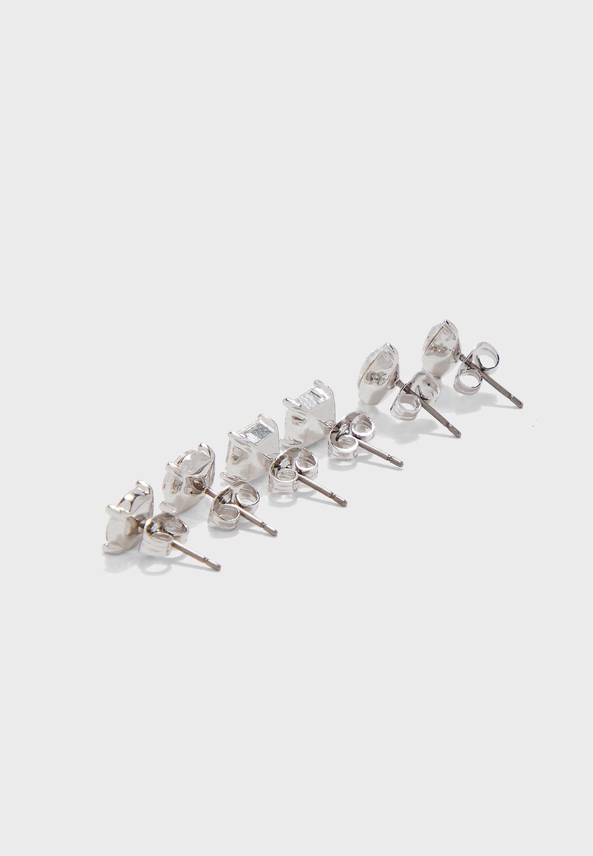 Multipack Kensington Stud Earrings