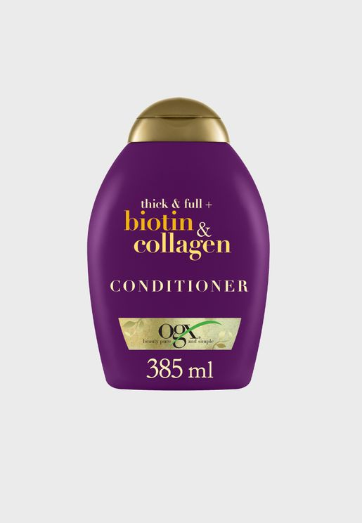 Biotin & Collagen Conditioner 385ml