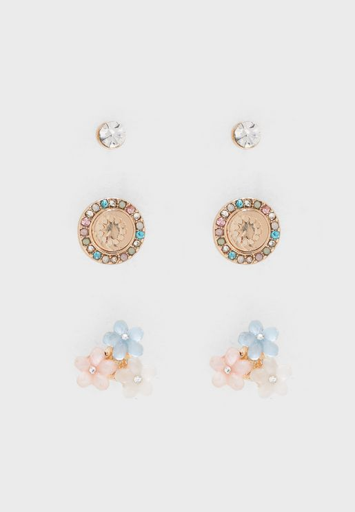 Glalewia Earrings Set