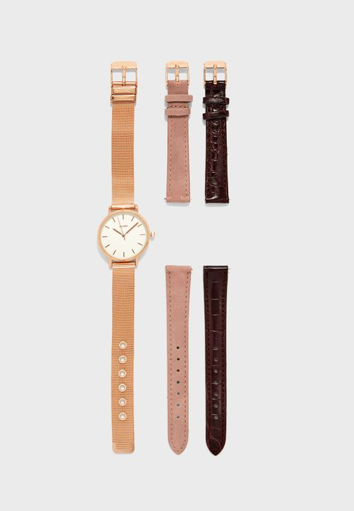 Panetonne Analog Watch