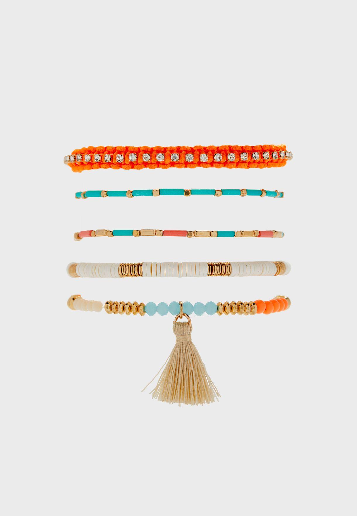 Multipack Grisella Bracelets