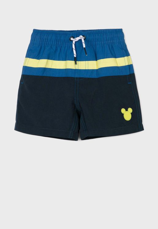 Infant Kids Printed Shorts